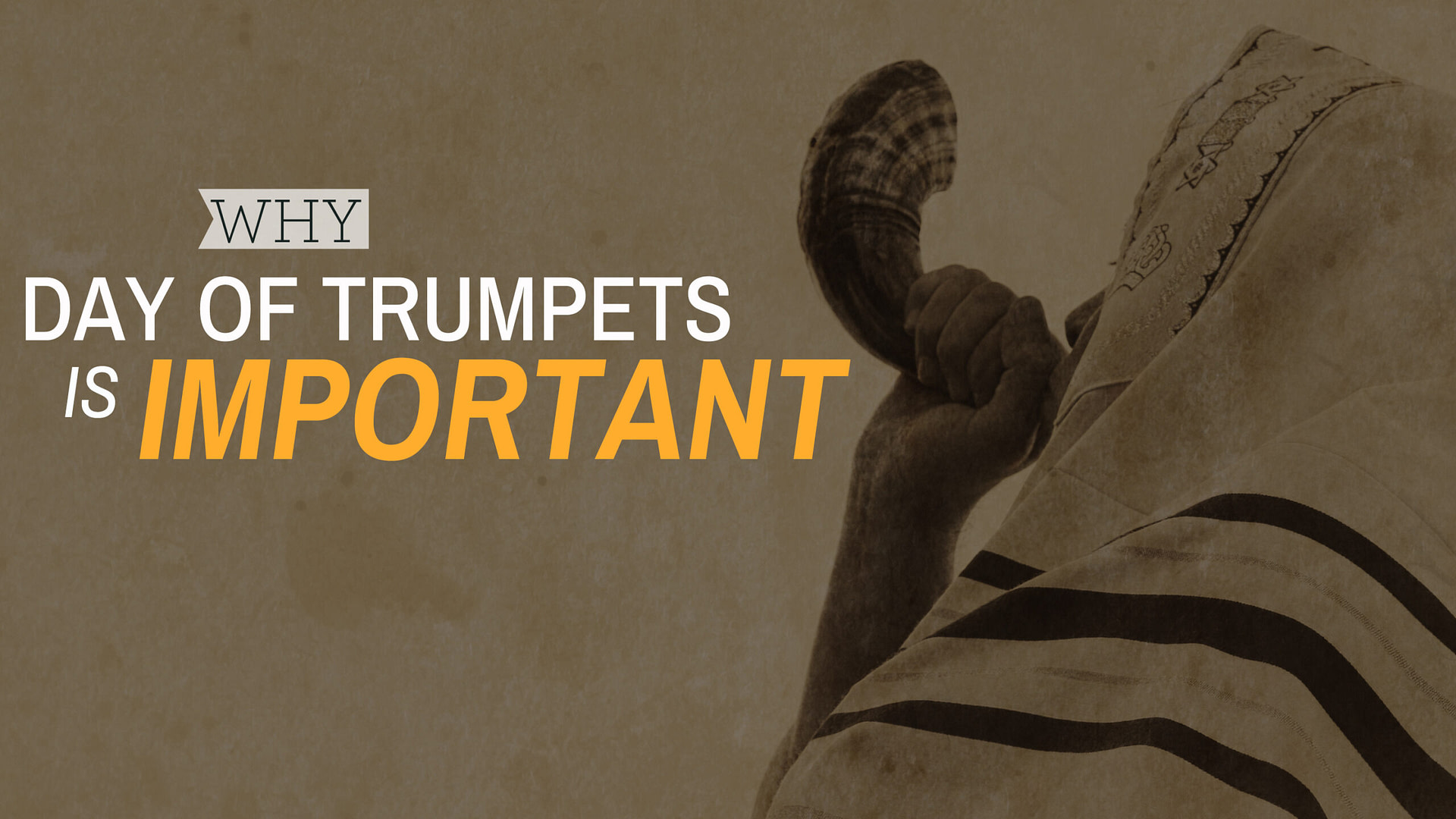Why Day of Trumpets is Important