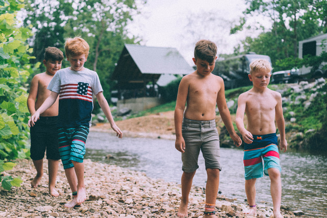 Kids in Piney River