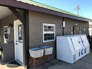 outside view of piney river laundry room