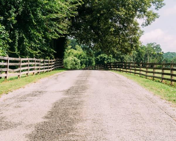 Road to Piney River RV resort