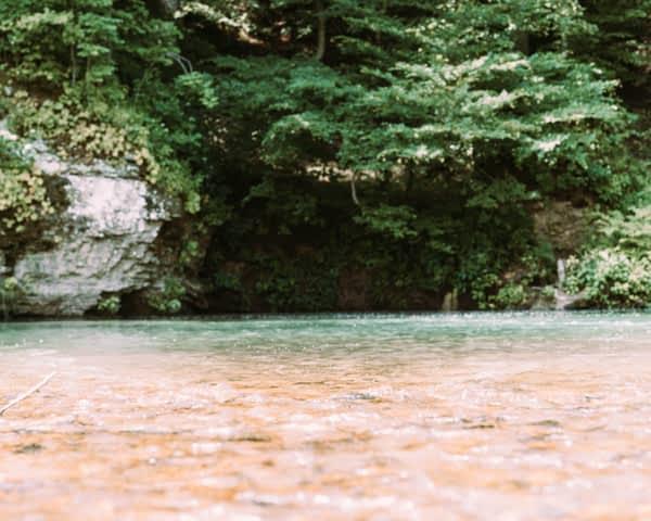 Piney River RV resort riverfront
