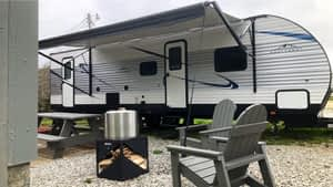 rv for tents for troops