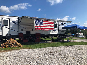 premium rv site in piney river rv resort