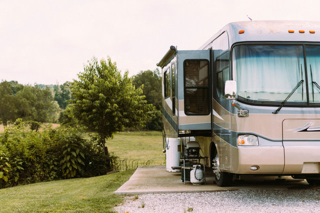 full hookup rv site