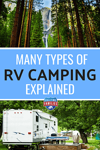 Types of RV Camping