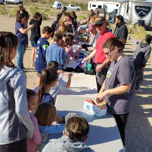 RVing Charity Work