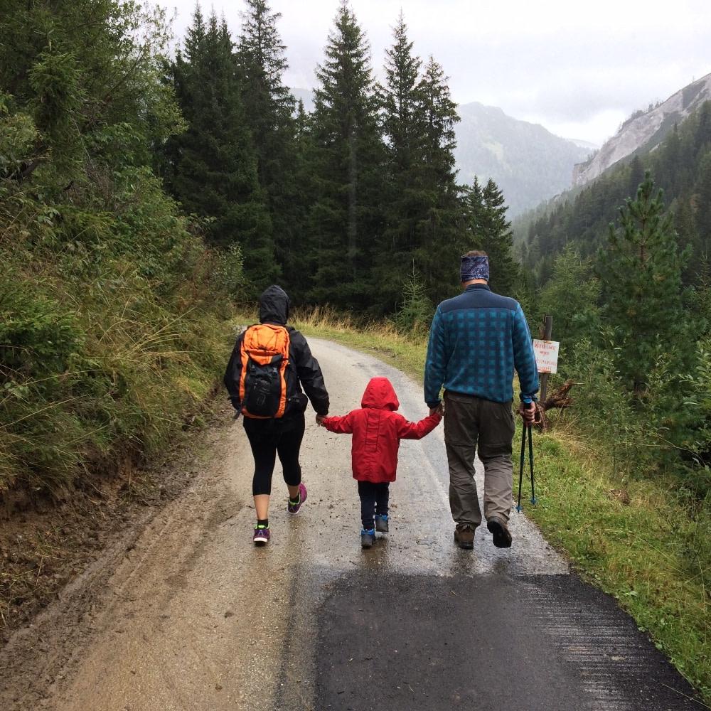 Hiking Thanksgiving Tradition