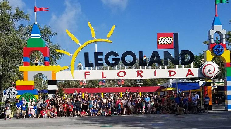 Fulltime Families annual field trip to Legoland Florida