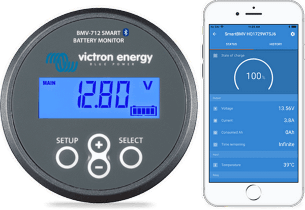 Victron Battery Monitor BMV-712 - Fulltime Families