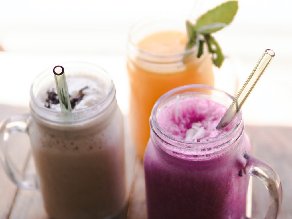Smoothies from RV blender