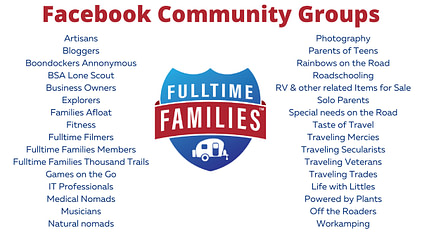 Best 5 ways to Finding Community While Living Fulltime in an RV - Fulltime Families