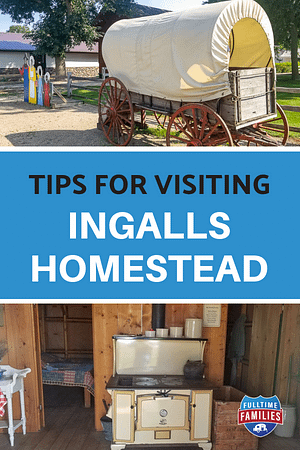 Ingalls Homestead Homeschool Trip