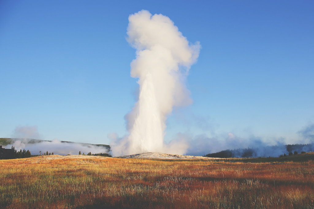 Things to do in Yellowstone: Old Faithful