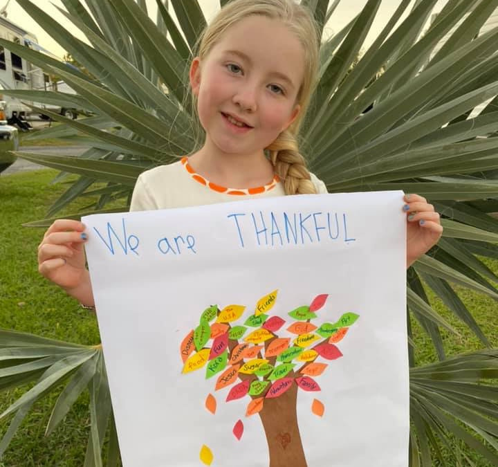 The Fulltime Families Explorers are Thankful