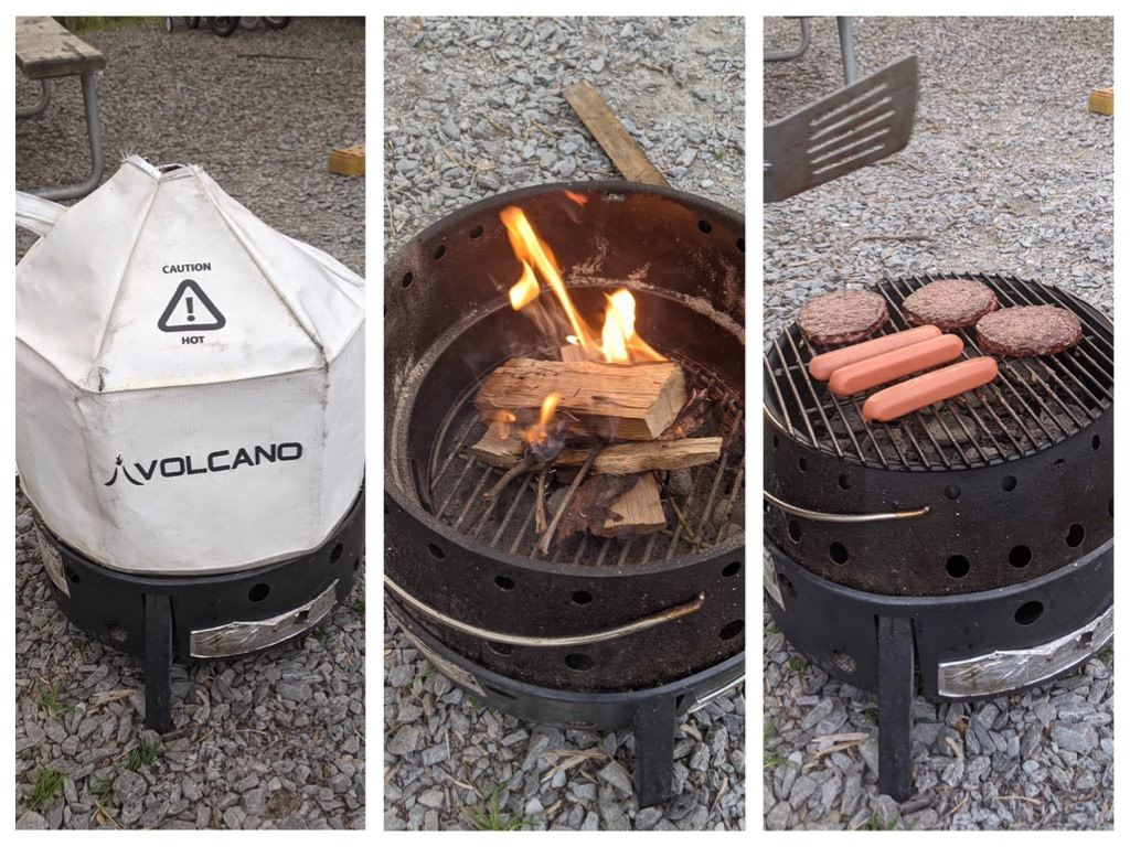 Volcano Grill and Fire Pit