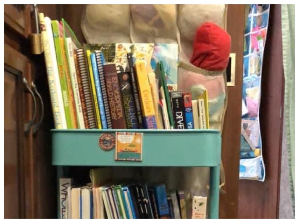 Homeschool Storage Ideas