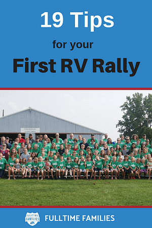 19 Tips for your first rally