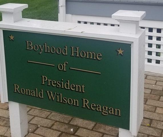 Ronald Reagan Boyhood Home (Roadschool Guide) - Fulltime Families