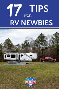 Tips for RV Newbies