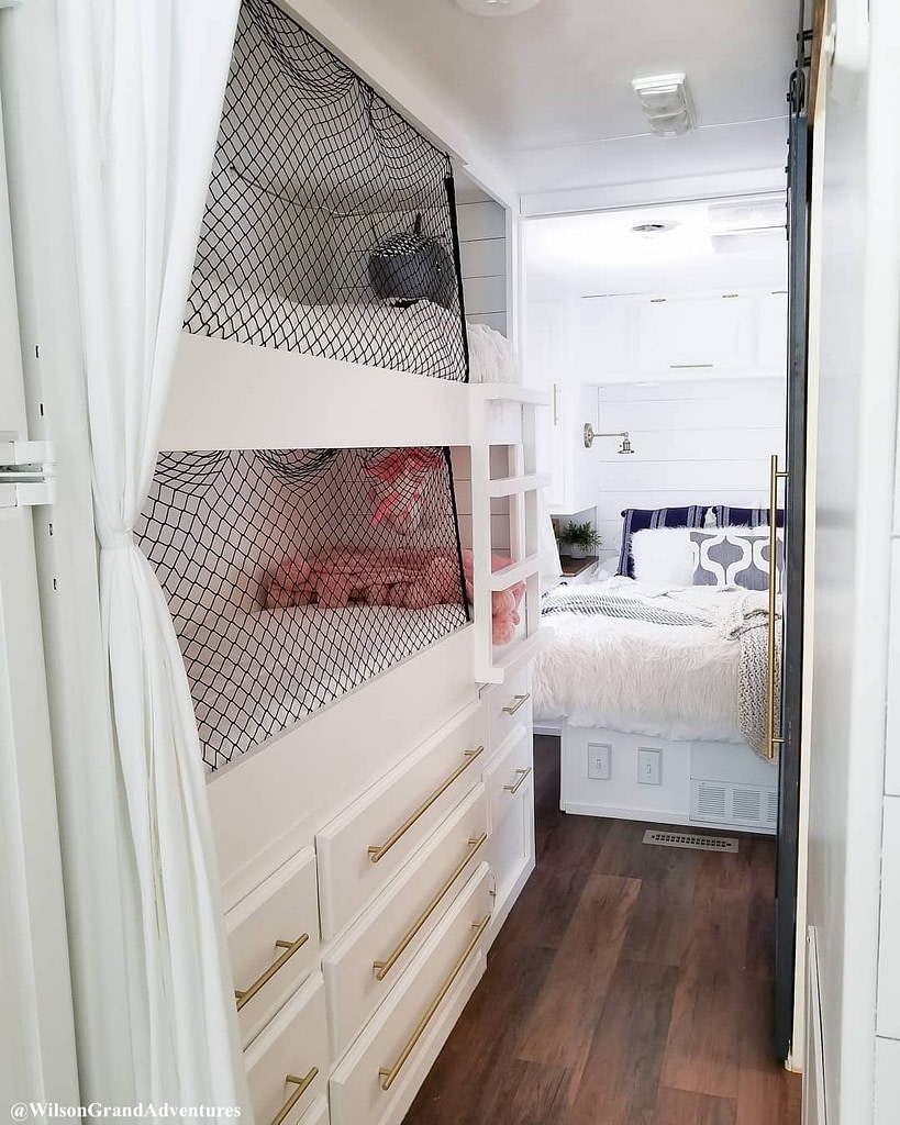 5 Ways Full Time RVing Families Create Sleeping Space for Their Kids - Fulltime Families