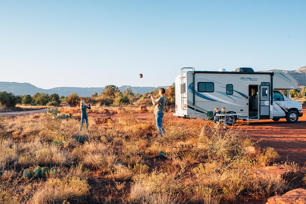 Free RV camp site