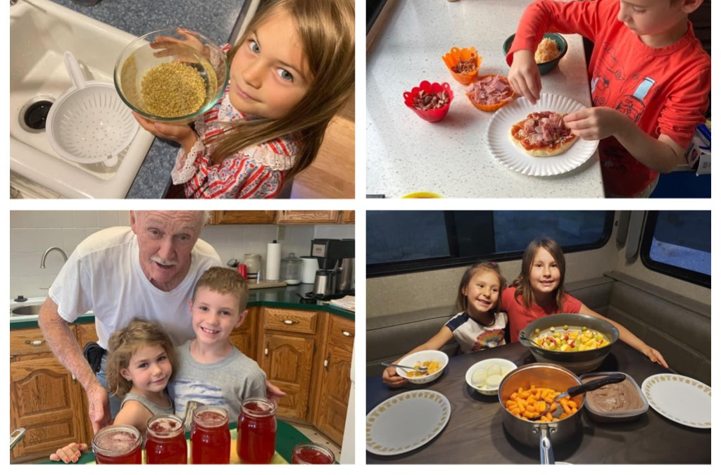 The Fulltime Families Explorers Enjoy Healthy Eating