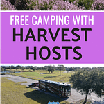 Free Camping With Harvest Hosts