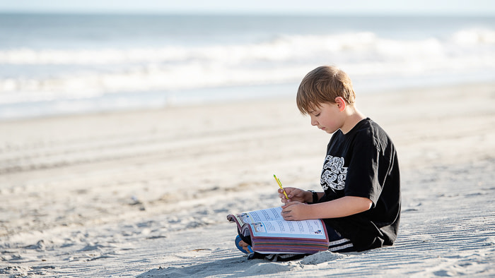 Homeschooling while RVing