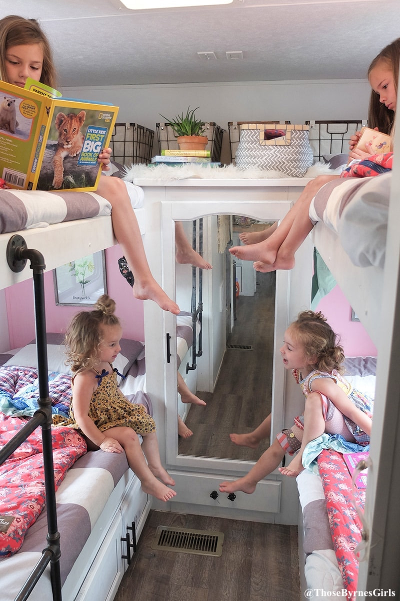 Creating Rv Sleeping Spaces For Kids