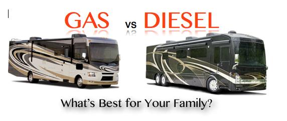 Gas vs Diesel RVs