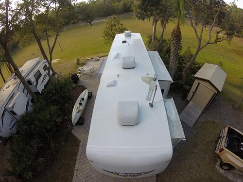 RV Maintenance Roof