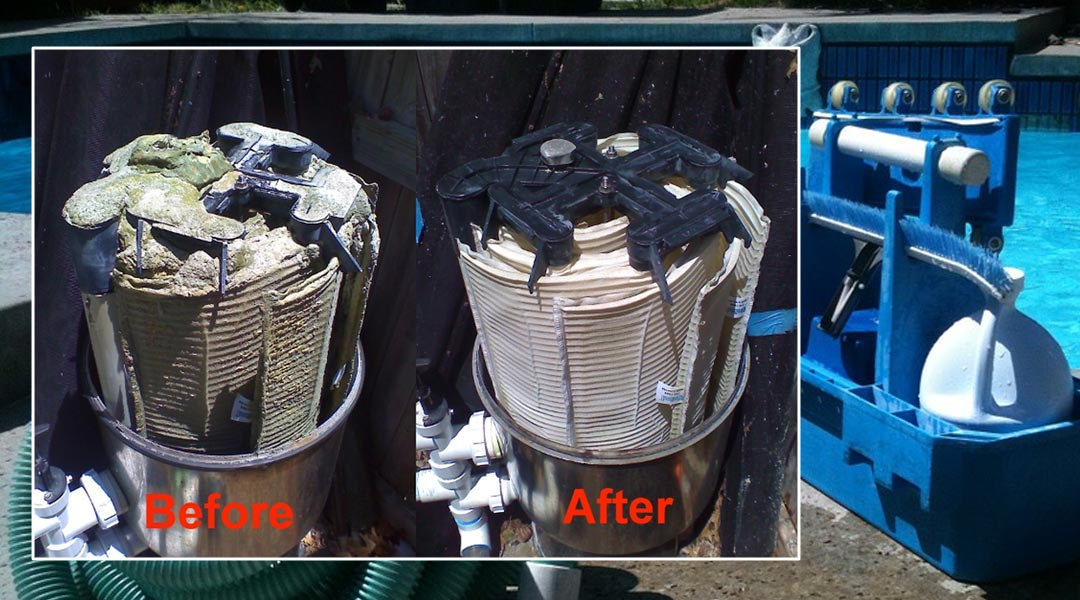 Pool Filter Cleaning