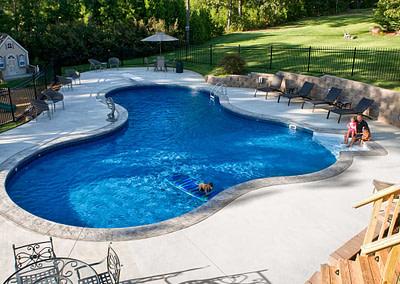 pool outdoor maintenance