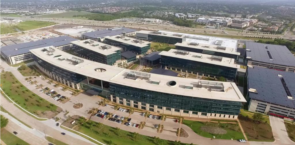 Toyota's North American Headquarters in Plano,Texas