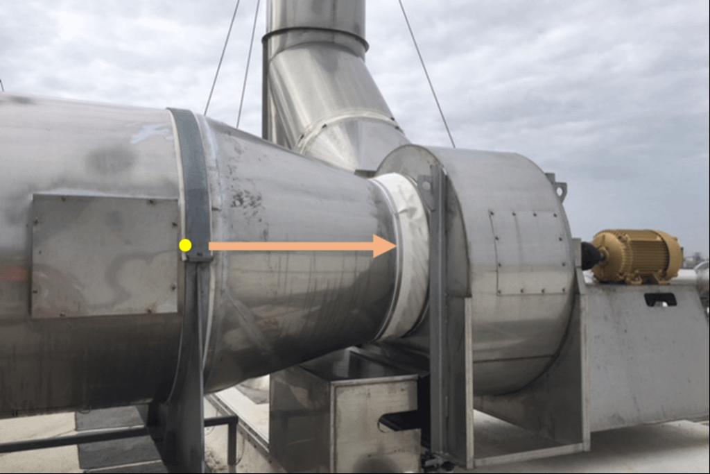 Ventilation Equipment Inlet