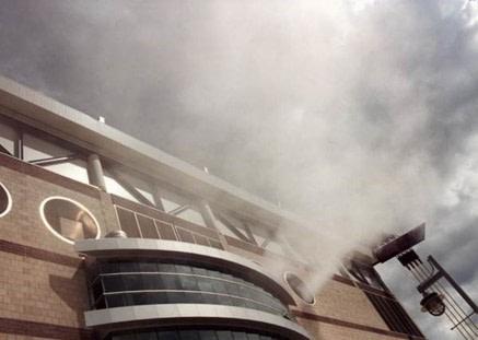 Smoke Control at The Alamodome