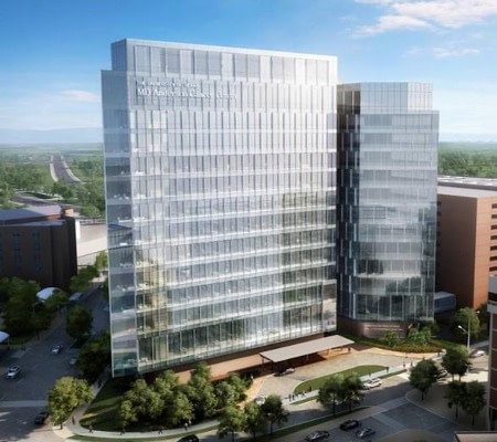 Zayed Building in The University of Texas MD Anderson Cancer Center