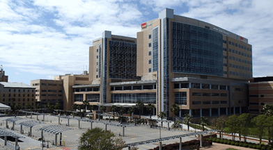 Jennie Sealy Replacement Hospital in University of Texas