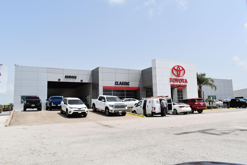 Classic Toyota Galveston Commercial Building Construction