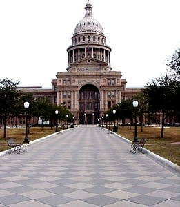 Historic South Grounds at Texas State Capitol Restored