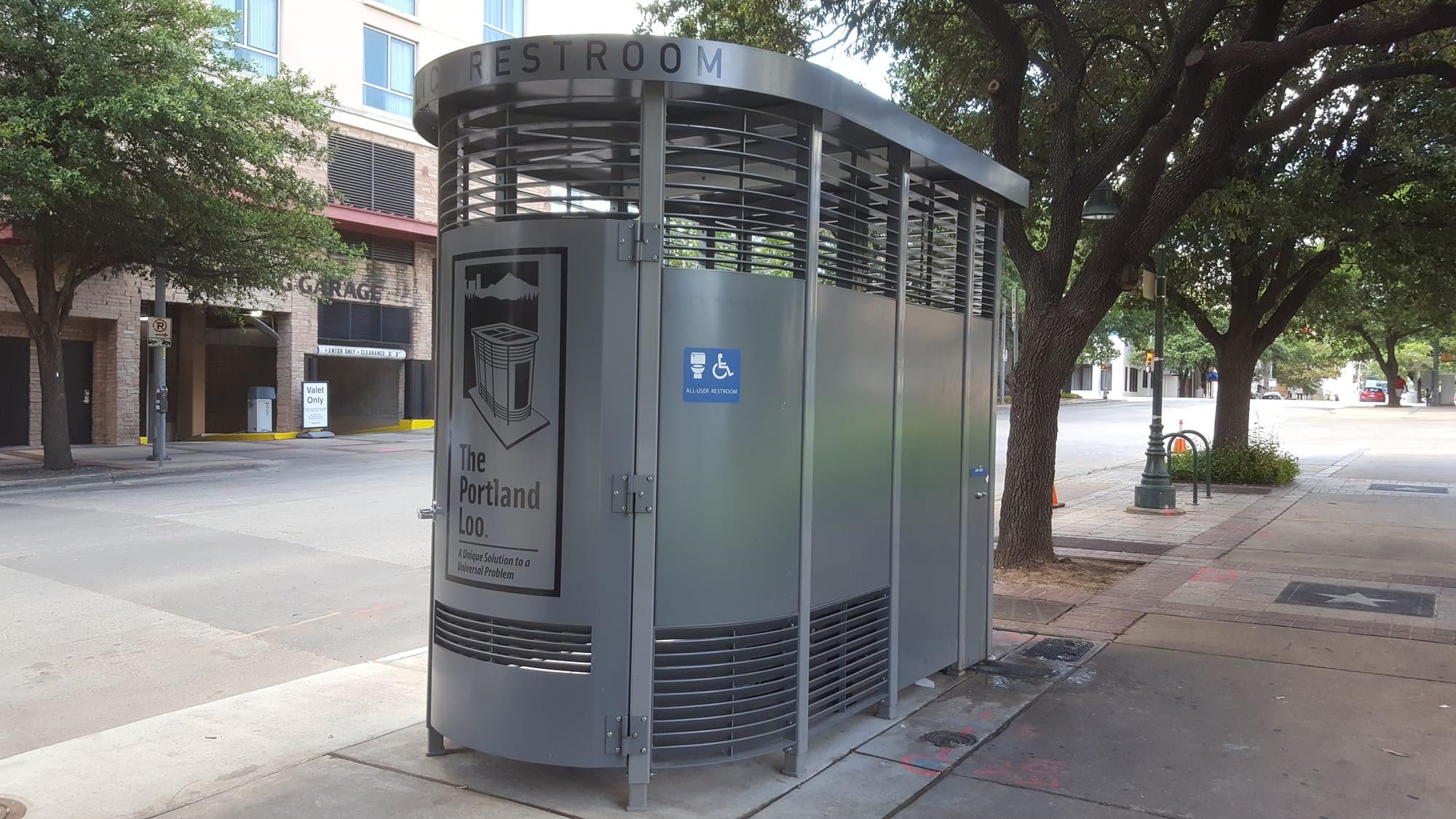 Austin's First Portland Loos