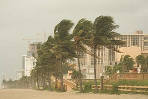 Hurricane Alicia Hits Galveston