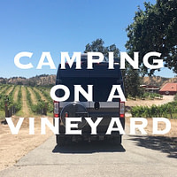 Vineyard camping paso robles
