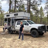 Four Wheel Camper Hawk Flatbed Russos