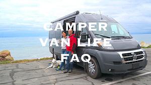 Camper Van Life FAQ