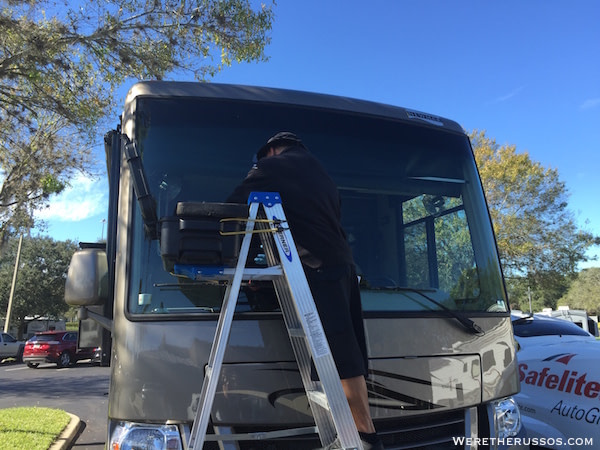 RV Windshield Repair and Replacement