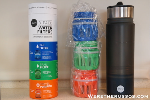 Grayl water filters