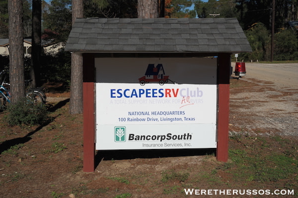 Choosing a Domicile for Full Time RVing with Escapees RV Club