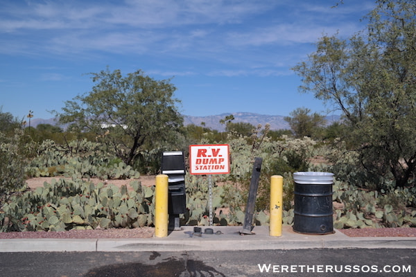 Free RV Dump Tucson AZ