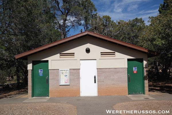 Mather Campground Restroom